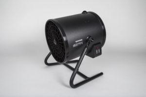 schwarze Windmaschine